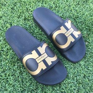 🔥 Salvatore Ferragamo Slides Sandals